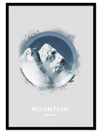 """Mountain poster 